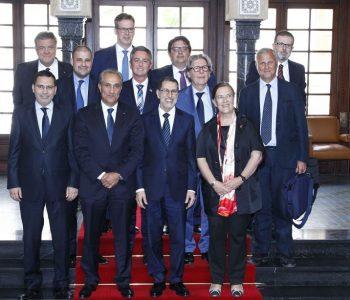 Gambús eurodiputats Parlament Europeu amb cap de govern Marroc Saadedín Al Othmani