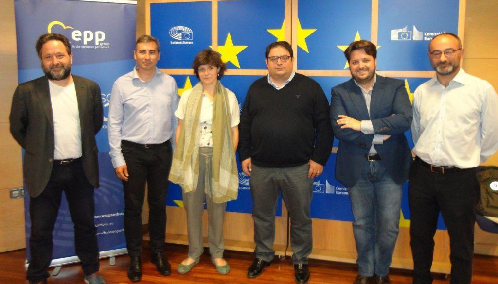 20170519 Gambus - jornada valors UE pobresa - Bellera, Illa, Fernandez, Bas i Ortiz