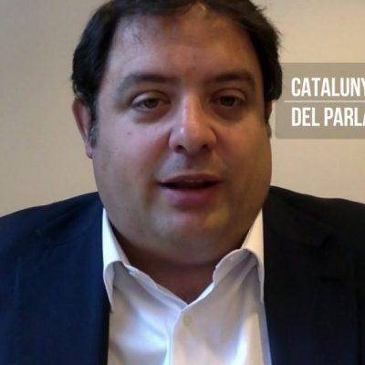 20171009 Gambus - post debat Catalunya al Parlament Europeu