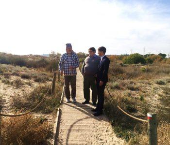 20171124 Gambus - Navas visita Torredembarra