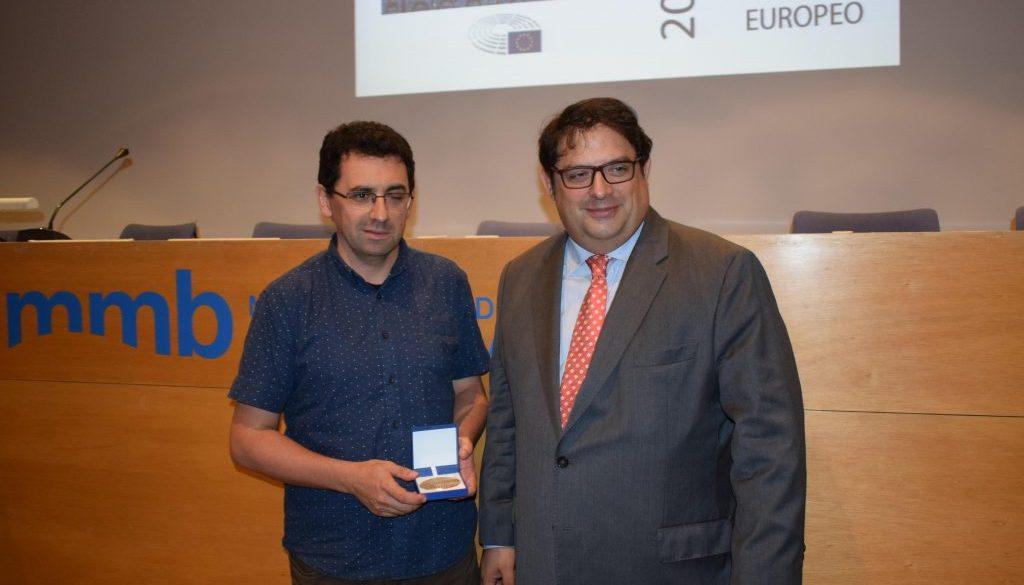 20180917 Ferran Busquets Fundacio Arrels - Francesc Gambus - premi ciutada europeu 2018