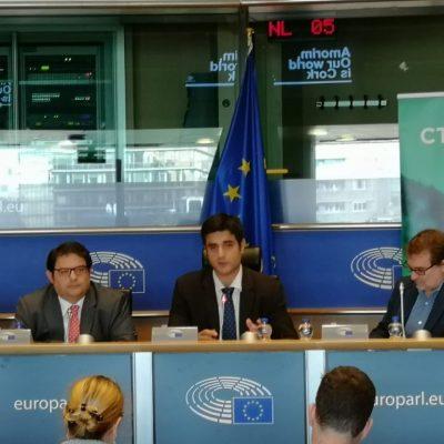 20181010 CTFC al Parlament Europeu - bioeconomia boscos 1